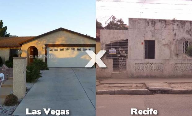 Imóveis em Las Vegas e Recife