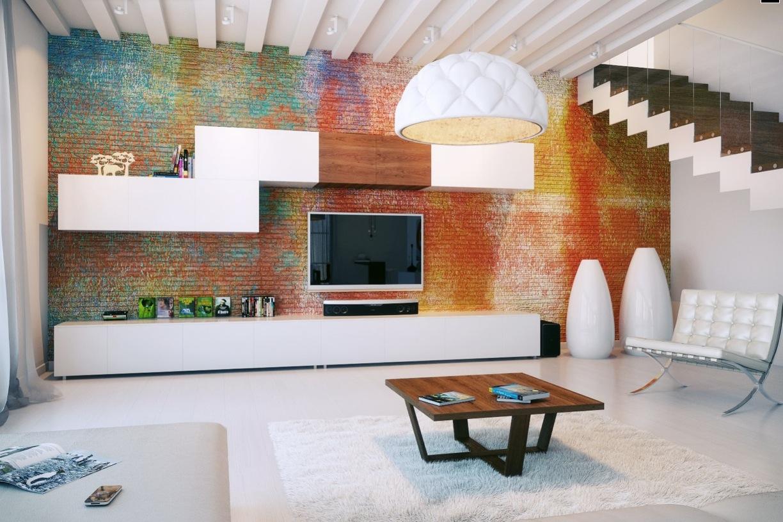 Painel De Tv Arquidicas -> Estante Gesso Sala Tv