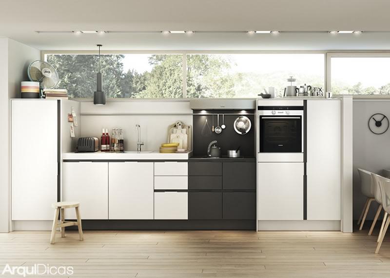 Cozinhas Lineares