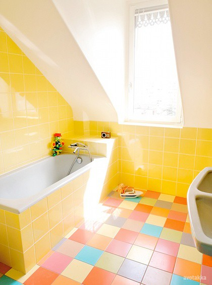 Banheiros Amarelos