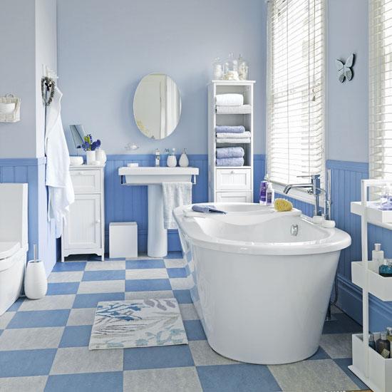 Banheiros Azuis