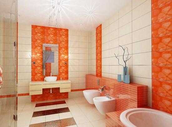 Banheiros Laranjas