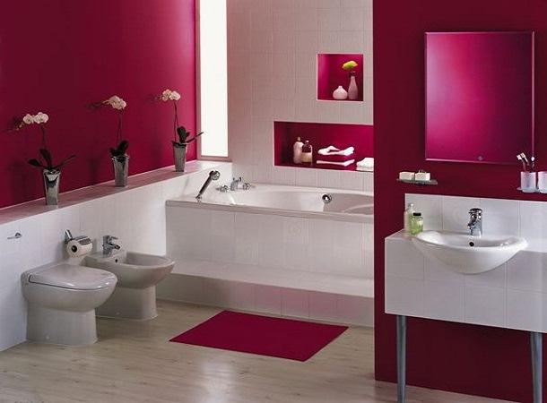 Banheiros Rosas
