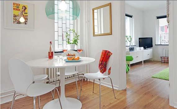 Como escolher a mesa de jantar arquidicas for Decoracion living departamento pequeno