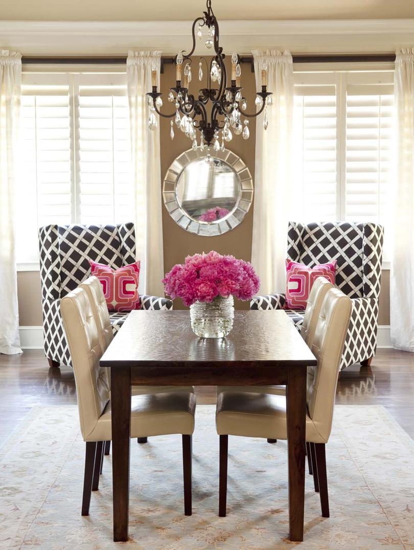Como Escolher A Mesa De Jantar Arquidicas -> Sala De Jantar Pequena Com Mesa De Marmore
