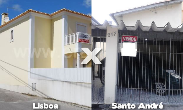 Casa em Lisboa e em Santo André