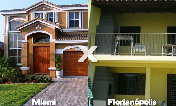 Miami e Florianópolis