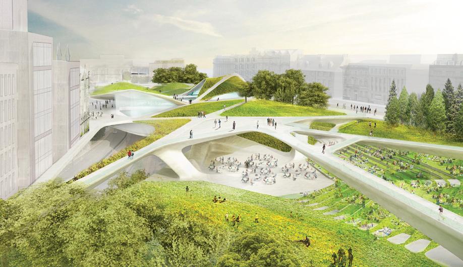 City Garden Project Aberdeen