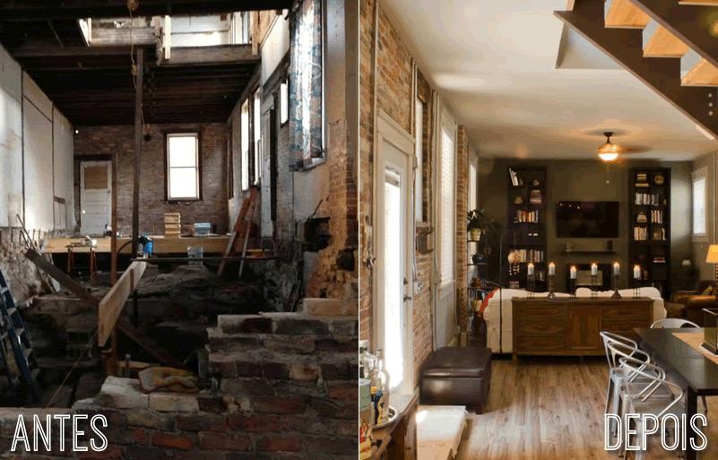 Reforma Antes e Depois