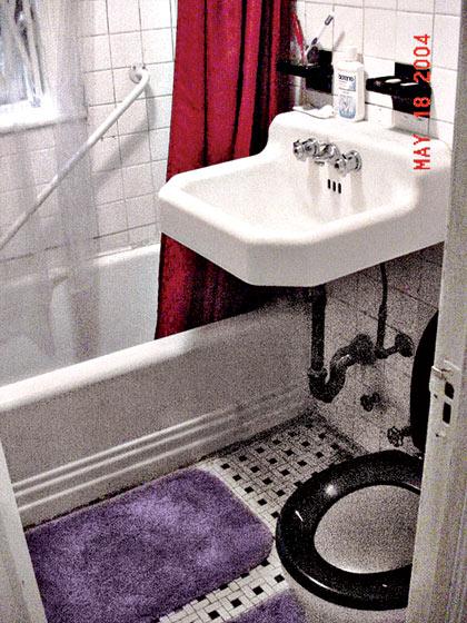 Banheiro Antes da Reforma