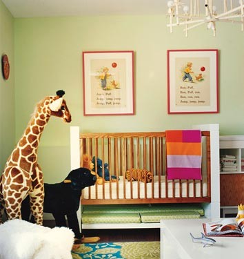 ideias de quartos de bebes