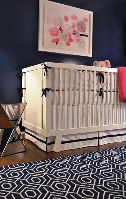 quarto azul para bebe