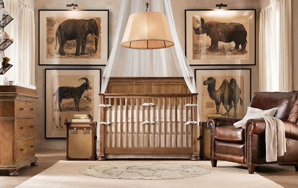 quarto de bebe africa