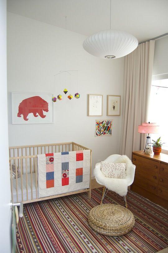 quarto de bebe descolado