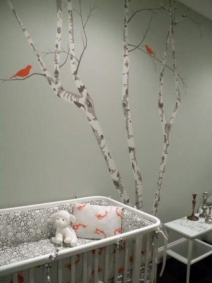 quarto de bebe cor clara
