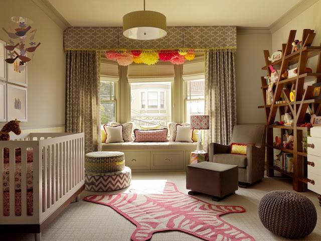 quarto moderno para bebe
