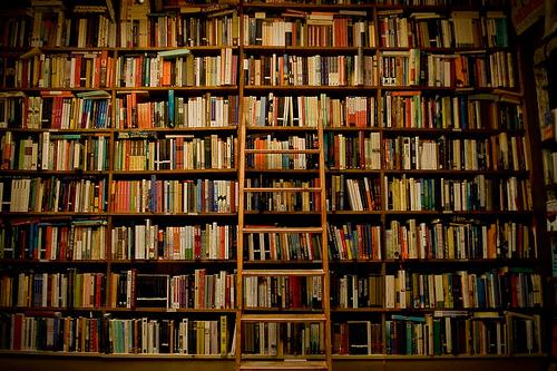 Estante com Livros