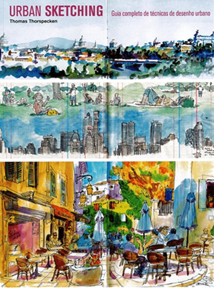 Urban Sketching – Guia Completo de Técnicas de Desenho Urbano