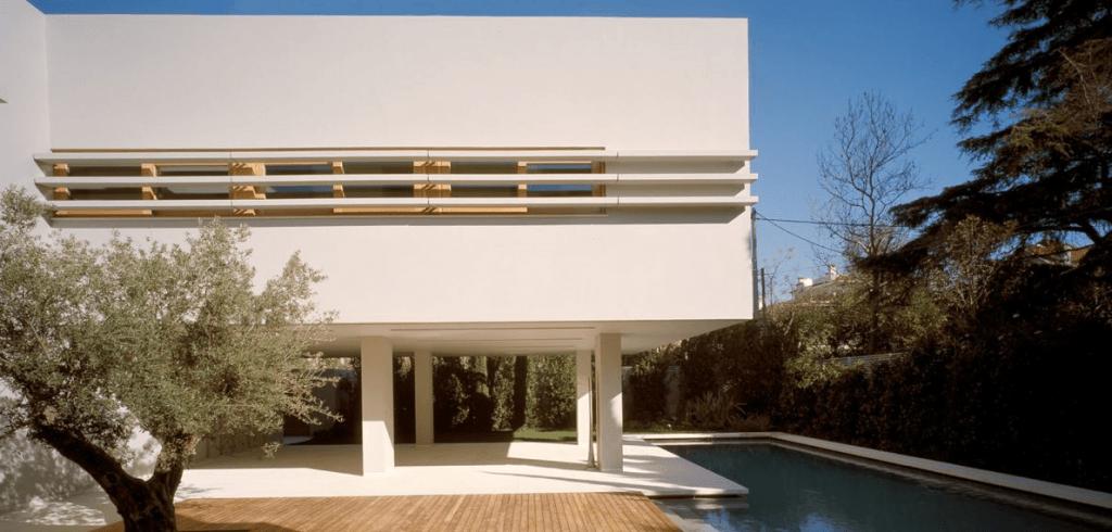 Casa contempor nea grega arquidicas for Raccordo casa contemporanea