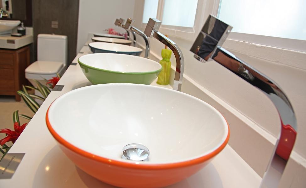 Cubas Coloridas  Arquidicas -> Cuba Para Banheiro Eternit