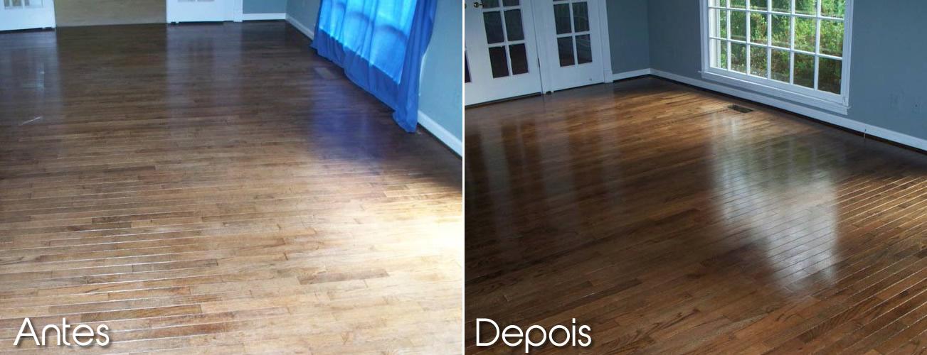 O que fazer para deixar o piso de madeira novo arquidicas for Piso xose novo freire