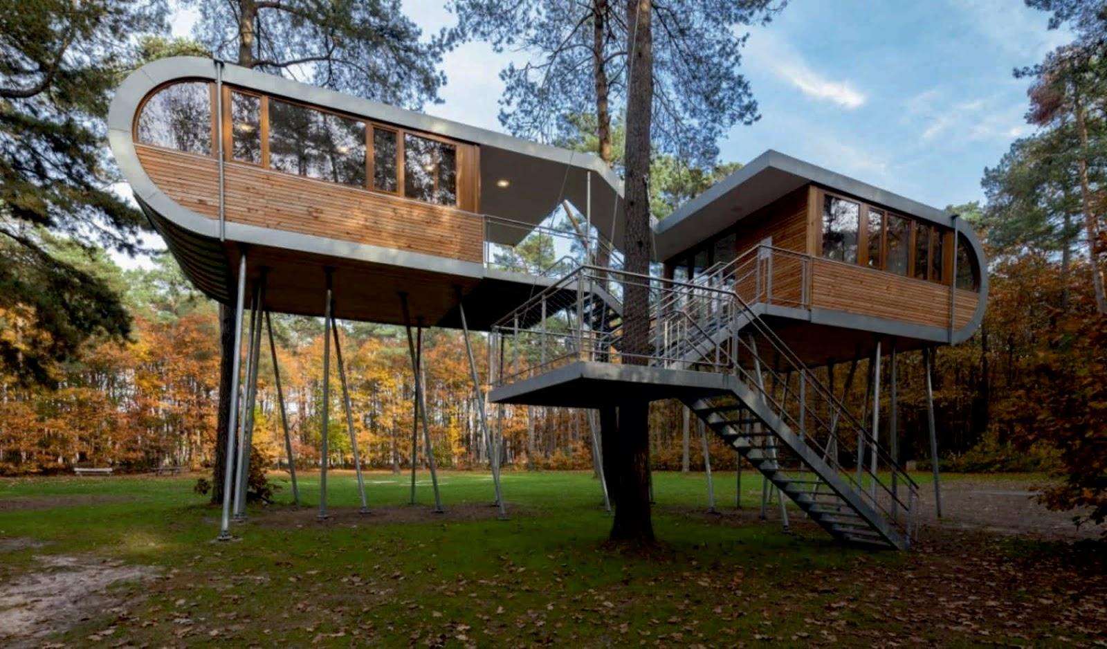 Casas lindas 26 fotos inspiradoras arquidicas for Hotel con casas colgadas de los arboles
