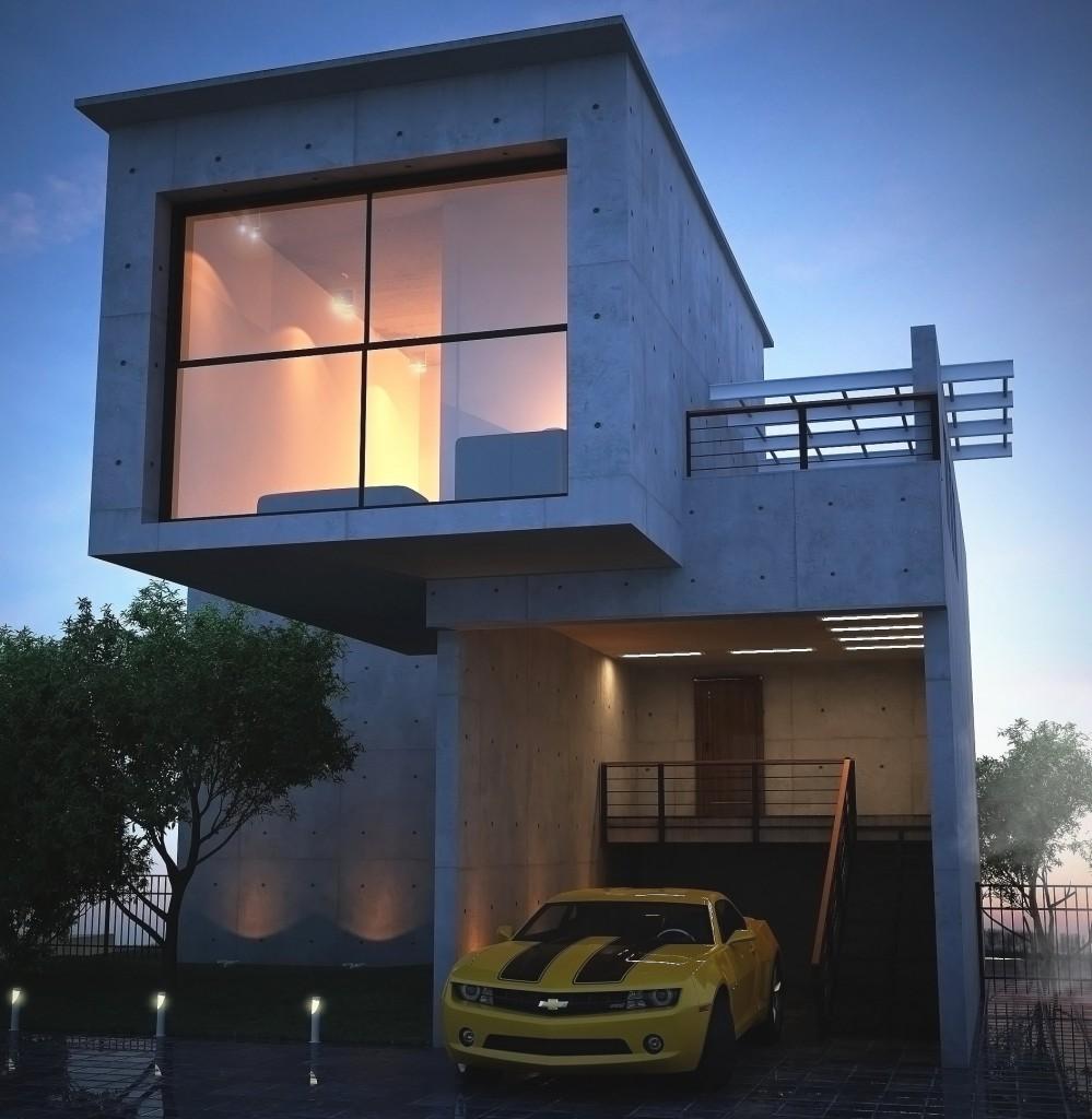 Casa Linda de Concreto