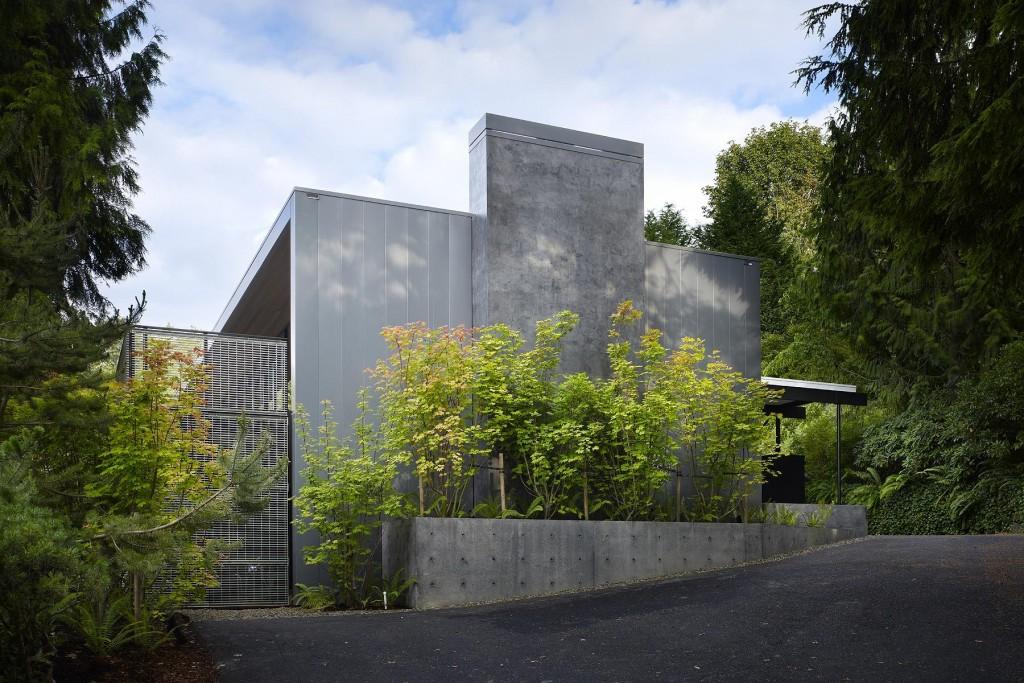 Casa de Concreto maravilhosa