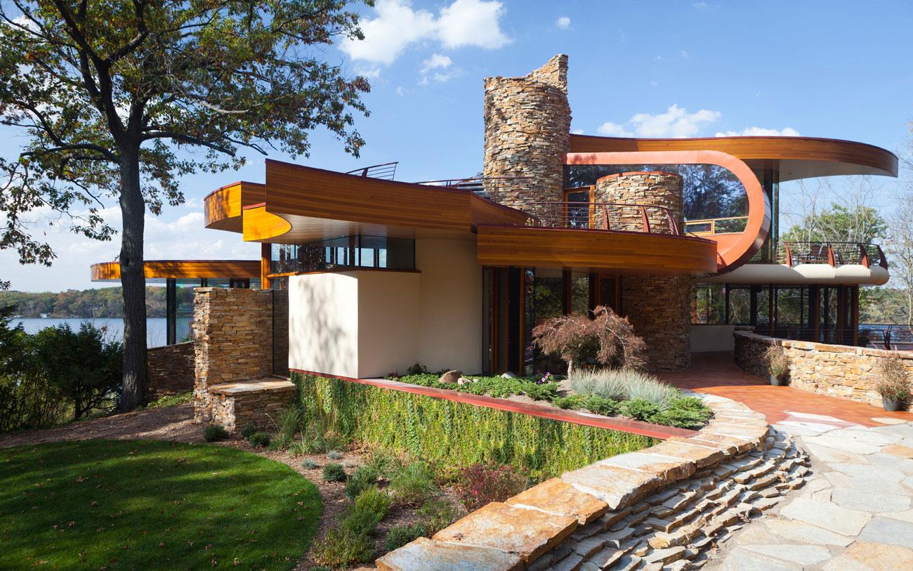 Casas lindas 26 fotos inspiradoras arquidicas for Casa moderna wallpaper