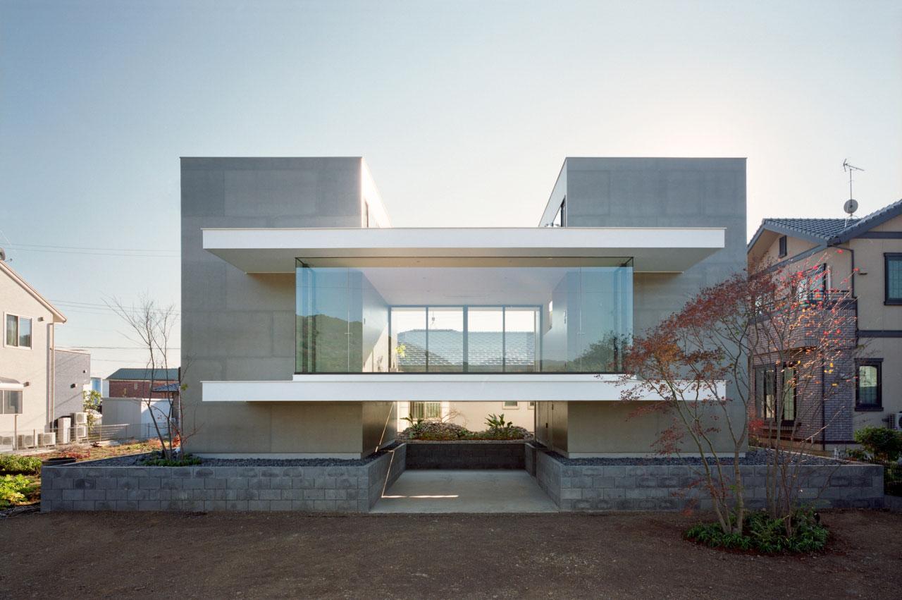 73 fachadas de casas ideias para inspirar arquidicas for Fachada moderna