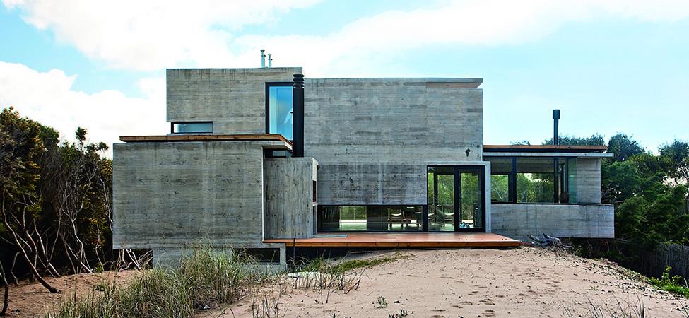 Casas de Concreto Fachadas