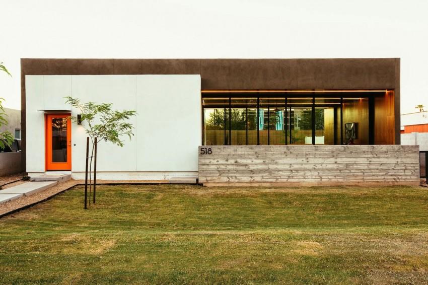 Casa com uma linda fachada