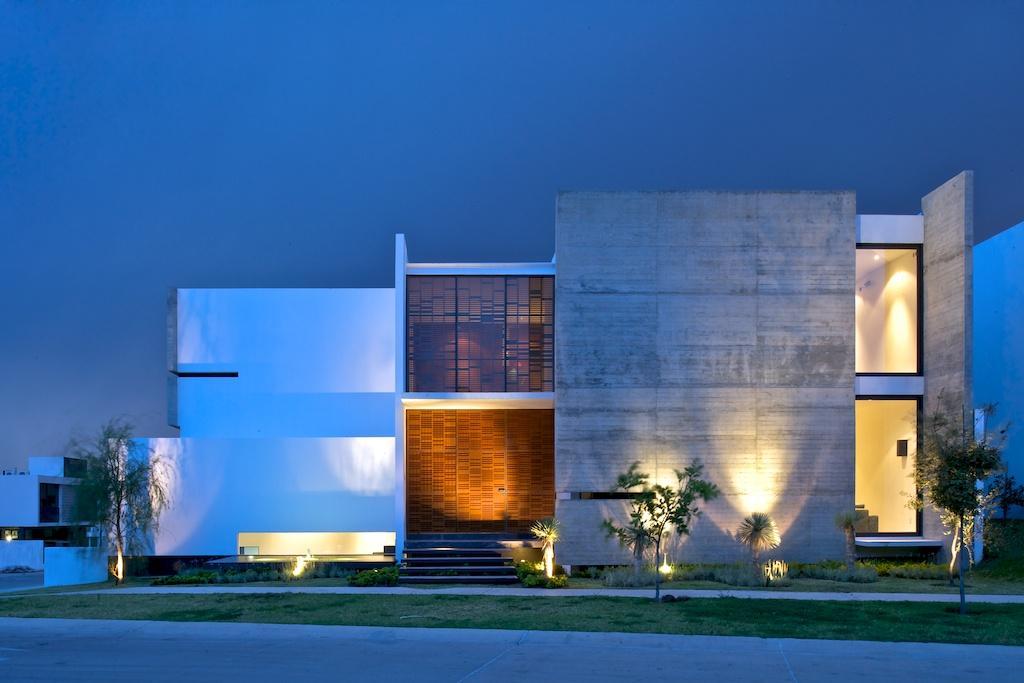 Casas projetos Fachada