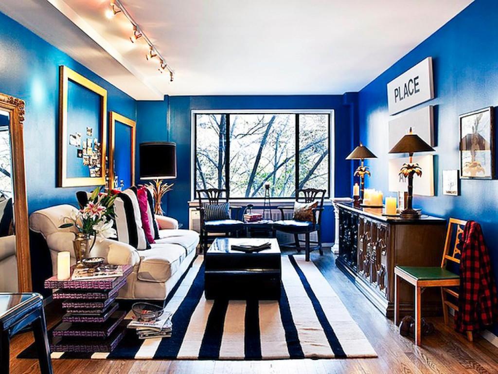 Decoração Azul Royal