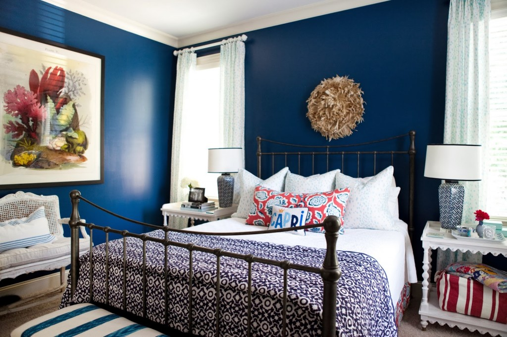 Dark Wood Bedroom Furniture Color Schemes Navy Blue