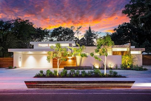 Fachadas de casas modernas 51 boas ideias arquidicas for Fotos de casas modernas terreas