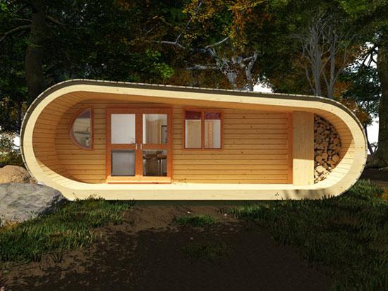 Casa Moderna Ecológica