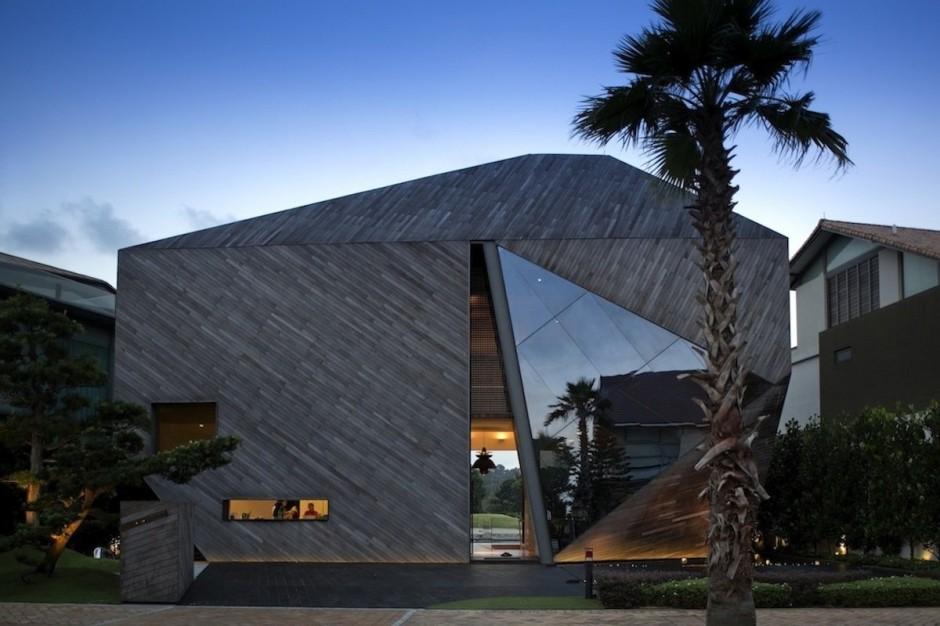 Casa Moderna Desconstrutivista
