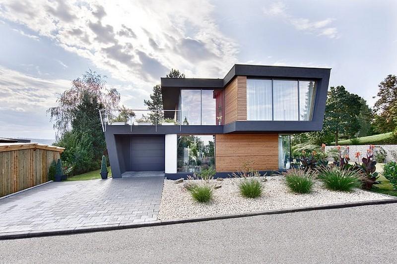Incr veis casas modernas 84 novas ideias arquidicas for Casa moderna total white