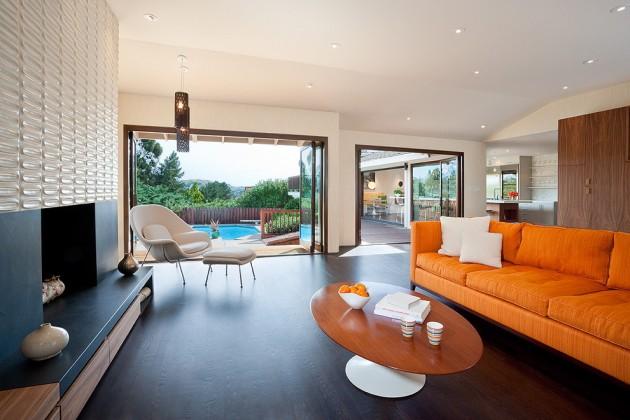 Salas Modernas Lareira