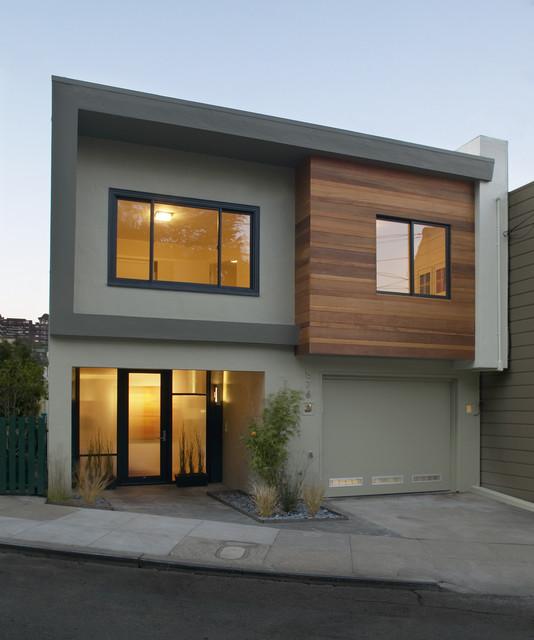 Fachada Casa Moderna Pequena