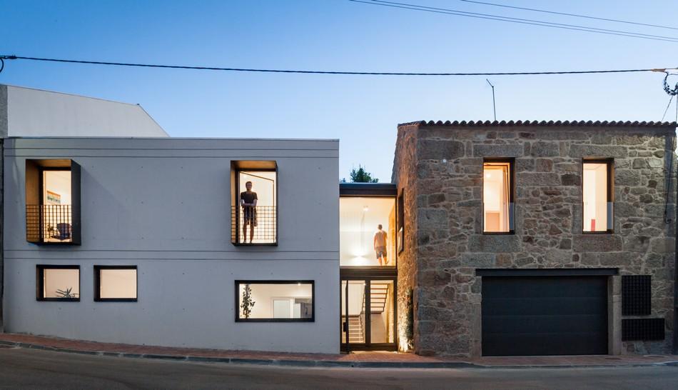 Fachada de Casa Moderna Simples