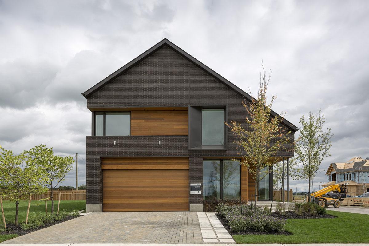 Fachadas de casas modernas 51 boas ideias arquidicas for Canadian home designs