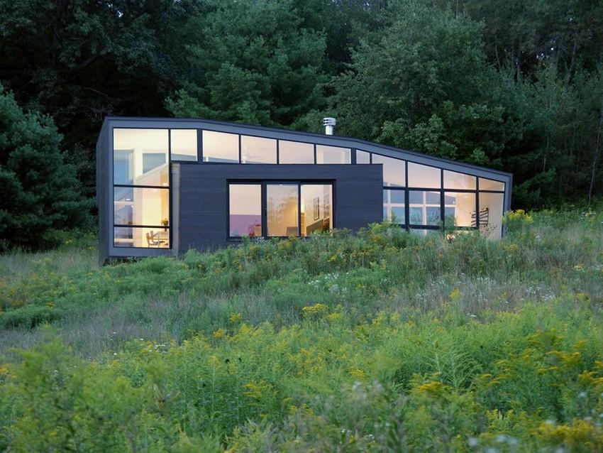 Fachada de Casas Modernas de Vidro
