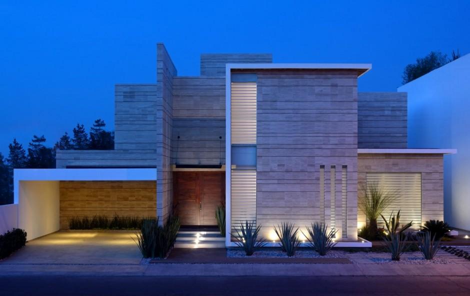 Fachadas de casas modernas 51 boas ideias arquidicas for Arquitectura moderna casas pequenas