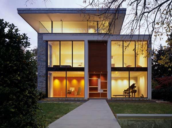 Fachadas de Casas Modernas e 2 Andares