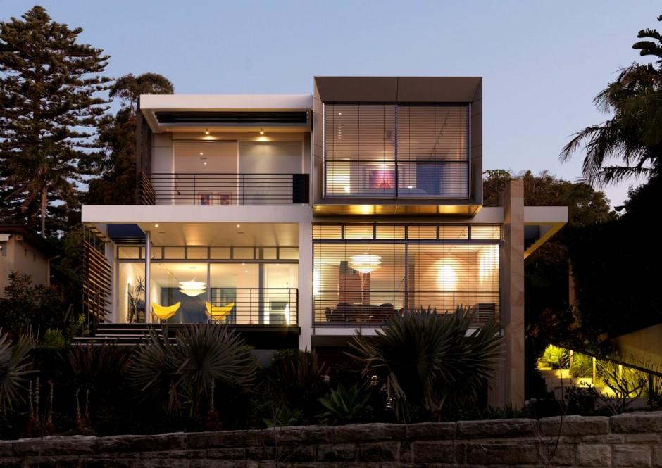 Fachadas de Casas Modernas de Luxo
