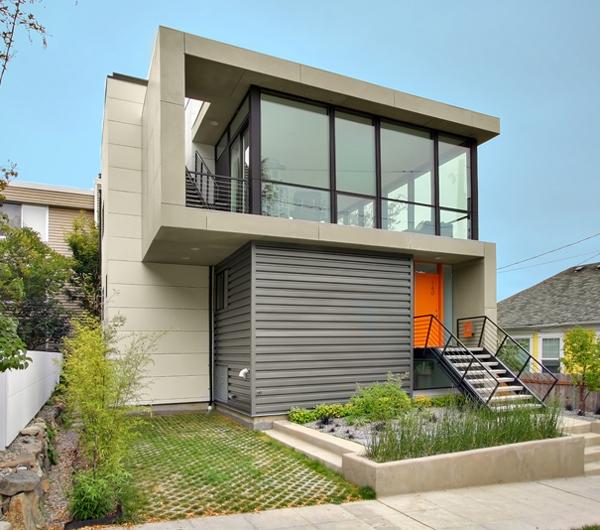 Fachadas de Casas Modernas em Condominio