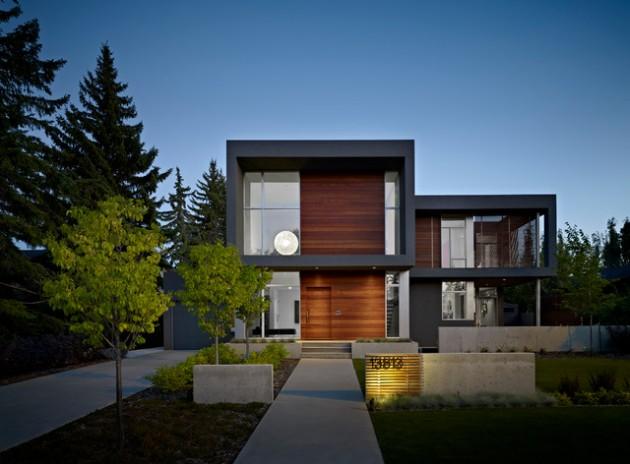 Fachadas de casas modernas 51 boas ideias arquidicas for Modelos de fachadas modernas