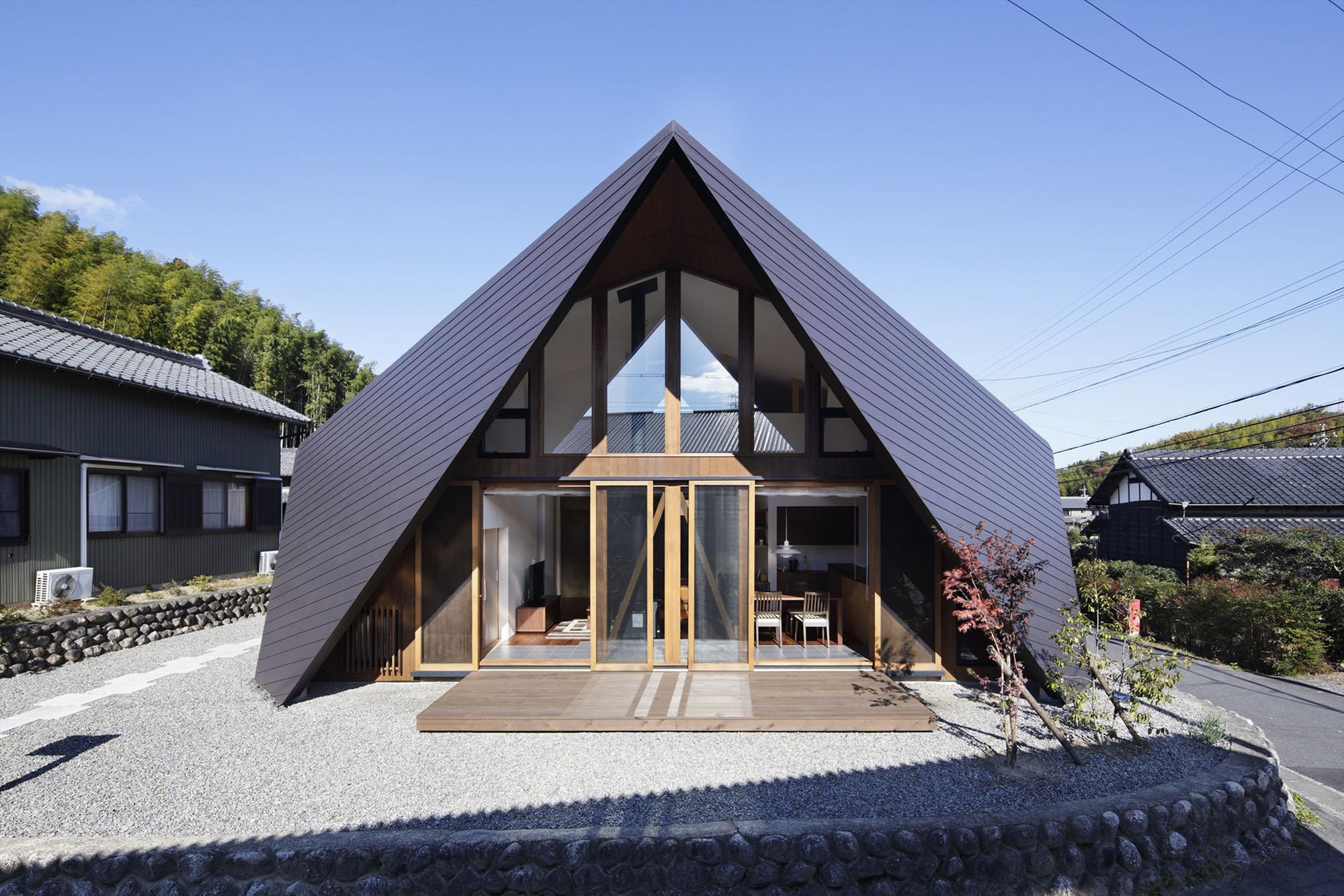 Fachadas de Casas Modernas com Telhado